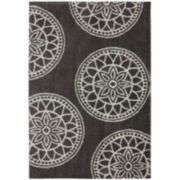 Mohawk Home® Gray Medallions Rectangular Rug