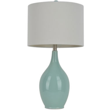 jcpenney.com | J. Hunt Home Spa-Blue Ceramic Table Lamp