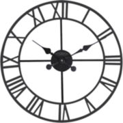 Classic Roman Outdoor Wall Clock