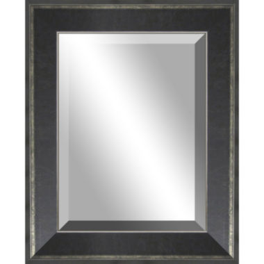 jcpenney.com | Lena Distressed with Silver Edges Wall Mirror