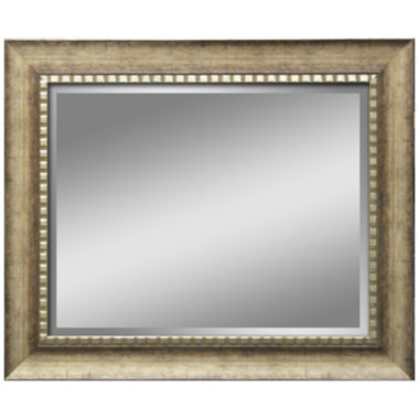 jcpenney.com | Abby Distressed with Beaded Inset Wall Mirror