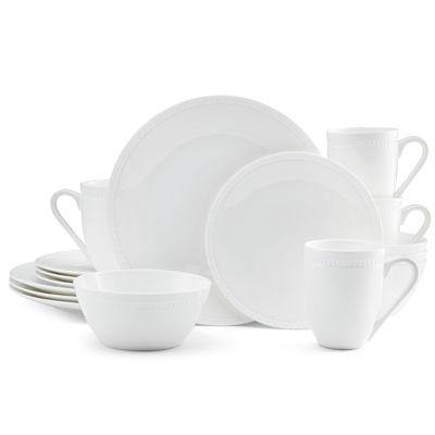 Bone China Dinnerware Set  sc 1 st  JCPenney & Mikasa Loria 16 pc Bone China Dinnerware Set