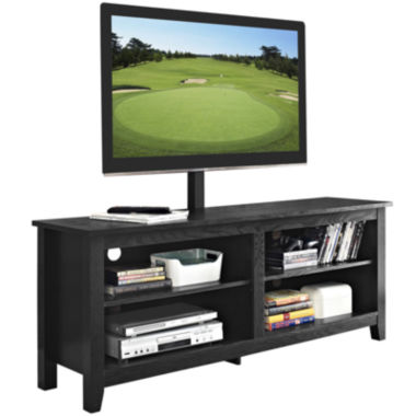 "jcpenney.com | Beale 58"" Wood TV Stand with TV Mount"