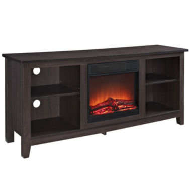 "jcpenney.com | Robin 58"" Electric Fireplace TV Stand"