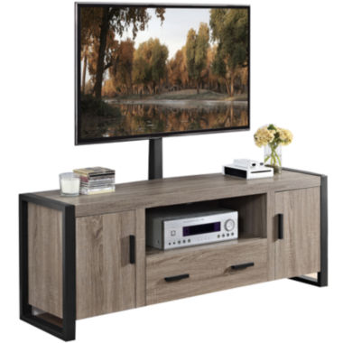 "jcpenney.com | Daphne 60"" Urban Blend TV Stand with TV Mount"
