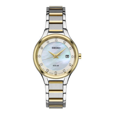 jcpenney.com | Seiko Womens Two Tone Bracelet Watch-Sut318