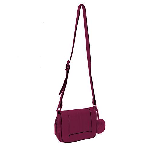 Dot Dash Stela Flap Crossbody Bag