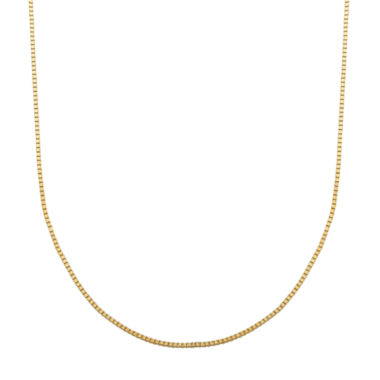 jcpenney.com | LIMITED QUANTITIES! 14K Yellow Gold 063 Box Chain Necklace