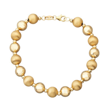 jcpenney.com | Limited Quantities! Womens 14K Gold Beaded Bracelet