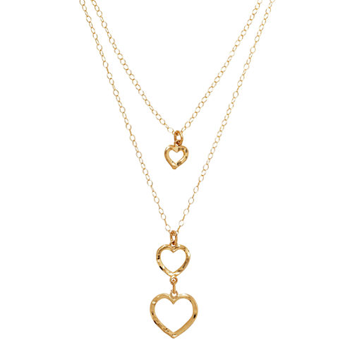 Limited Quantities! Womens 18 Inch 10K Gold Link Necklace