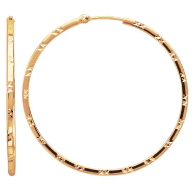 jcpenney.com | Limited Quantities! 14K Gold Hoop Earrings