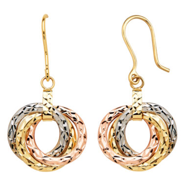 jcpenney.com | Limited Quantities! 10K Gold Drop Earrings
