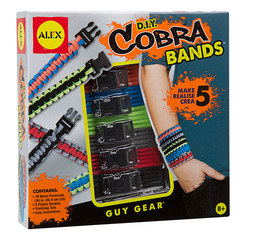 ALEX Toys Guy Gear Cobra Bands