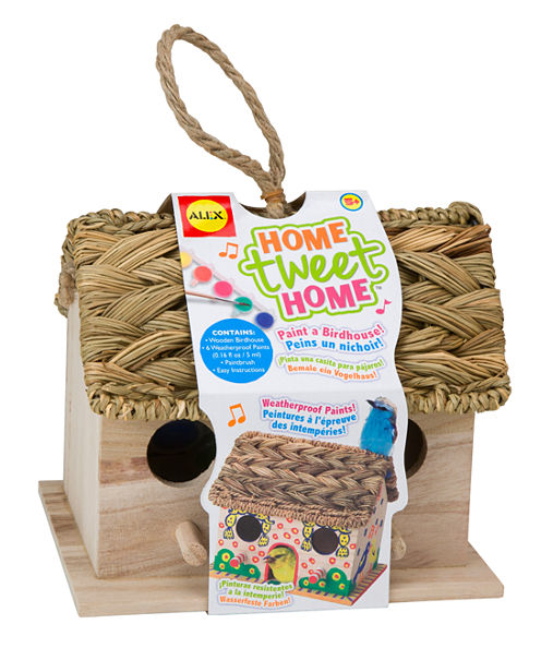 ALEX Toys Craft Home Tweet Home Birdhouse Kit