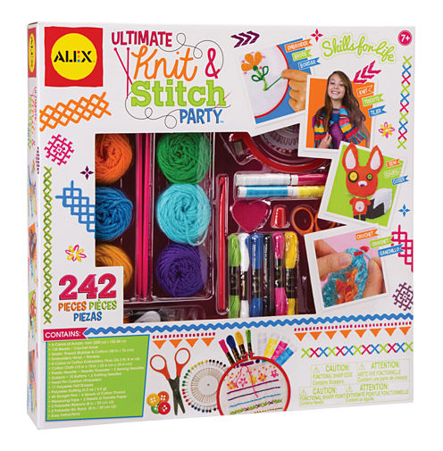 ALEX Toys Craft Ultimate Knit and Stitch Party