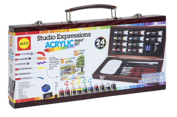 jcpenney.com | ALEX Art Studio Expressions Acrylic Painting Set