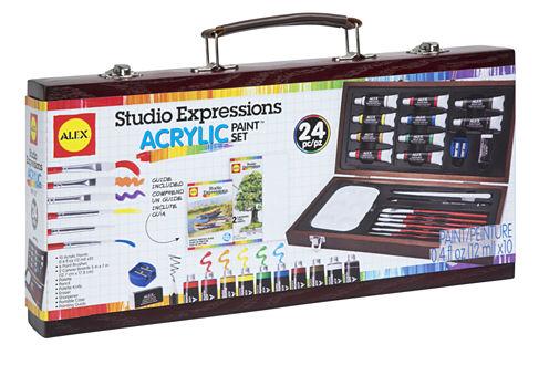 ALEX Art Studio Expressions Acrylic Painting Set