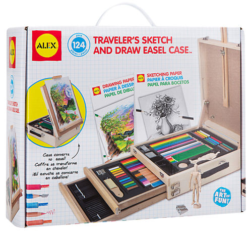ALEX Toys Artist Studio Traveler's Sketch and DrawEasel Case