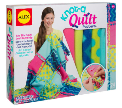 jcpenney.com | ALEX Toys Craft Knot A Quilt Pattern