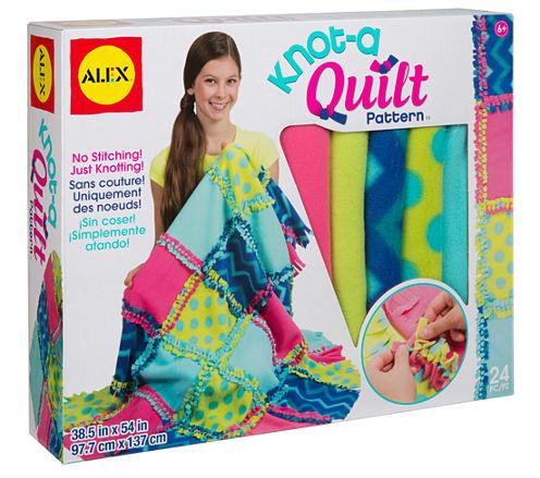 ALEX Toys Craft Knot A Quilt Pattern
