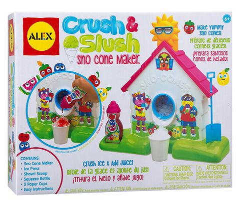 ALEX Toys Crush and Slush Sno Cone Maker