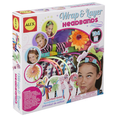 jcpenney.com | ALEX Toys DIY Wear Wrap and Layer Headbands