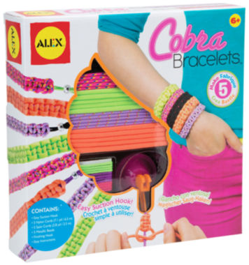 jcpenney.com | ALEX Toys DIY Wear Cobra Bracelets