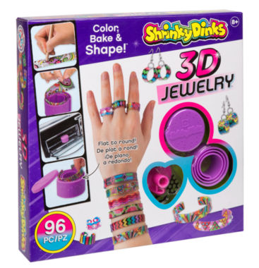 jcpenney.com | Shrinky Dinks Bake and Shape 3D Jewelry