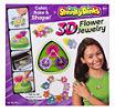 Shrinky Dinks 3D Flower Jewelry