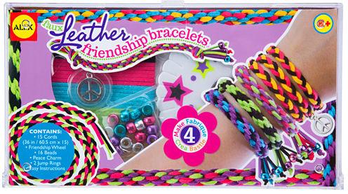 ALEX Toys DIY Wear Faux Leather Friendship Bracelets
