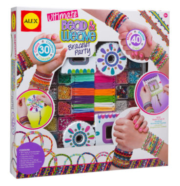 jcpenney.com | ALEX Toys DIY Wear Ultimate Bead and Weave Bracelet Party