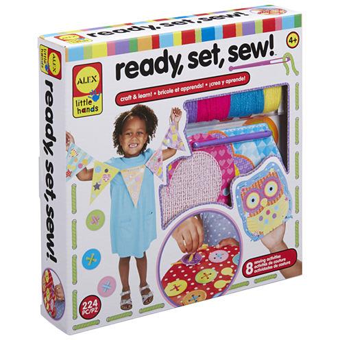 ALEX Toys Little Hands Ready Set Sew