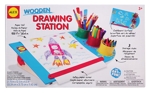 ALEX Toys Artist Studio Wooden Drawing Station