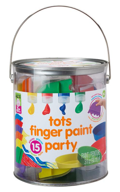 ALEX Jr. Finger Paint Party