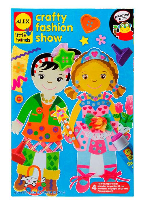 ALEX Toys Little Hands Crafty Fashion Show