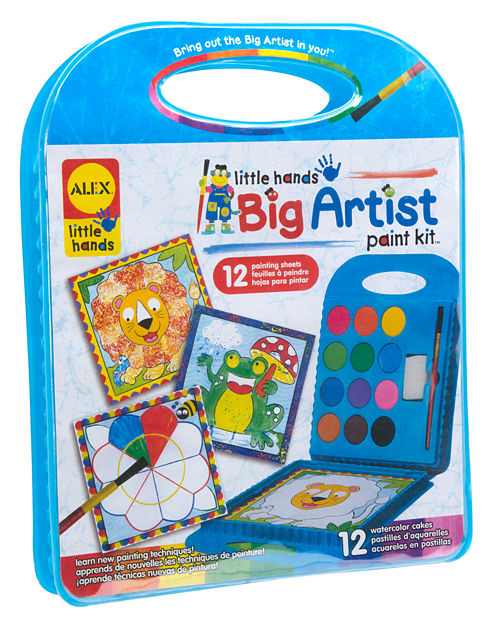 ALEX Toys Little Hands BIG Artist Series Paint Kit