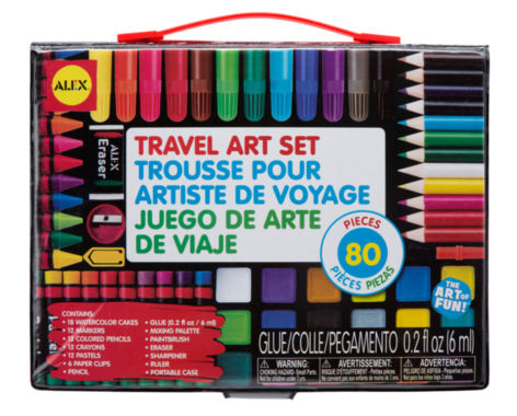 jcpenney.com | ALEX Toys Artist Studio Travel Art Set with Carrying Case