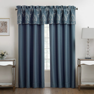 jcpenney.com | Marquis By Waterford Desire Rod-Pocket Valance