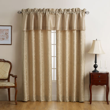 jcpenney.com | Marquis by Waterford Isabella Gold Rod-Pocket Curtain Panel