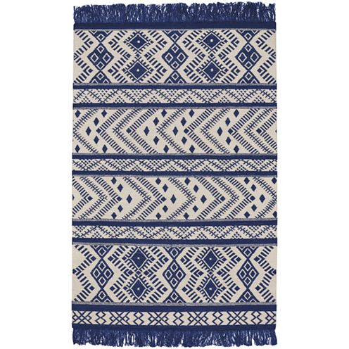 Capel Abstract Rectangular Rug
