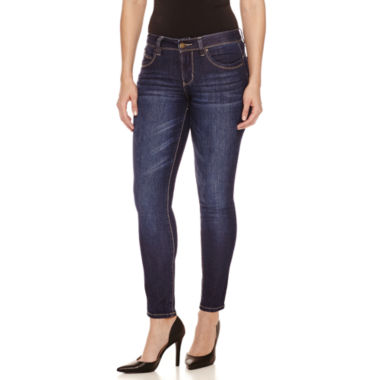jcpenney.com | Bisou Bisou 5-Pocket Denim Skinny