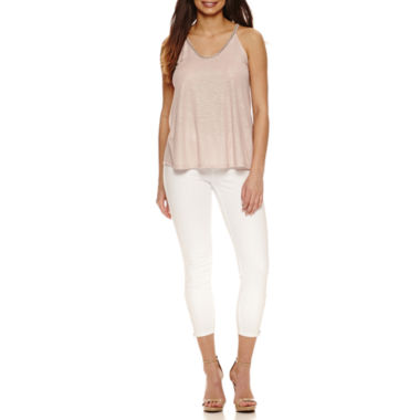 jcpenney.com | Bold Elements Beaded V-Neck Top or Skinny Ankle Zip Pants