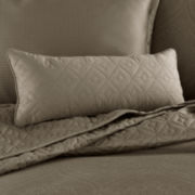 Royal Velvet® 400TC WrinkleGuard™ Bolster Decorative Pillow