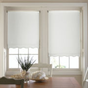 JCPenney Home™ Savannah Cut-to-Width Fringed Thermal Roller Shade