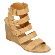 a.n.a® Major Wedge Womens Booties