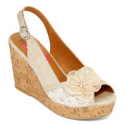 Pop Kalie Platform Wedge Sandals