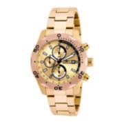 Invicta® Mens Rose-Tone Bezel Chronograph Sport Watch 17753