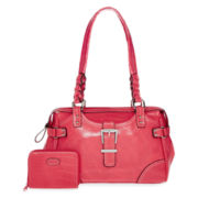 Rosetti® Buckle Down Satchel