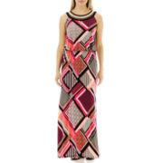Studio 1® Sleeveless Blouson-Top Maxi Dress - Petite
