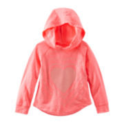 OshKosh B'gosh® Heart-Print Hoodie – Girls 4-7